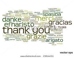 vector concept conceptual thank you word stock vector 336591122