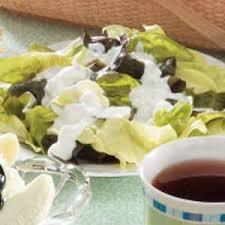 easy blue cheese dressing recipe taste of home
