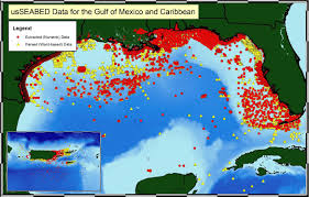 Where Is Puerto Rico On A Map by Usseabed Gulf Of Mexico And Caribbean Offshore Surficial Sediment