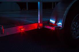 enclosed trailer led lights led trailer lights install great advantage led trailer lights