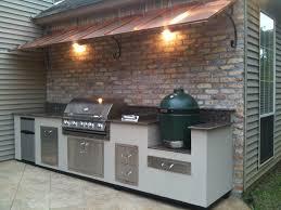 outdoor kitchen against house kitchen decor design ideas