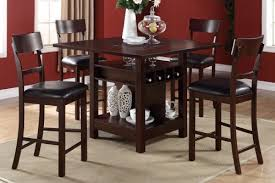Dining High Chairs High Dining Room Chairs Stupefy The Counter Height Table And In