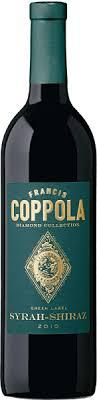 francis coppola diamond collection francis ford coppola green label diamond collection syrah shiraz