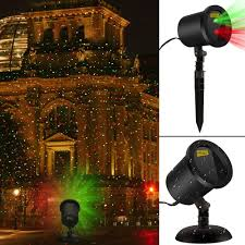 Christmas Outdoor Motion And Light Projector by Amazon Com Blinking Red And Green Laser Christmas Lights