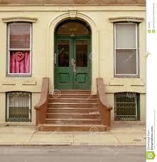green front door stock images image 1995294