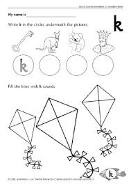 letter k phonics activities and printable teaching resources