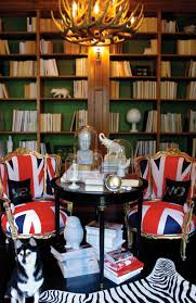 Union Jack Dining Chair Union Jack Chairs Eclectic Den Library Office Graham Moss