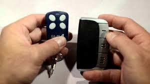 Blue Max Garage Door Opener Manual by Universal Remote Gate And Garage Door Opener Programming Youtube