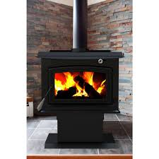 Dual Gas And Wood Burning Fireplace by Freestanding Stoves Fireplaces The Home Depot