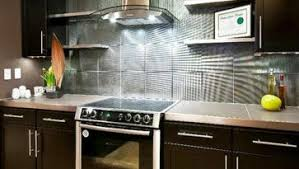 illuminated kitchen backsplash ideas cabinets and gas stove with