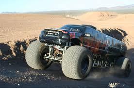 suzuki monster truck sin city hustler monster truck side view no car no fun muscle