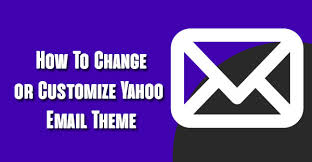 Email Yahoo Steps To Change Or Customize Yahoo Email Theme On Desktop Computer