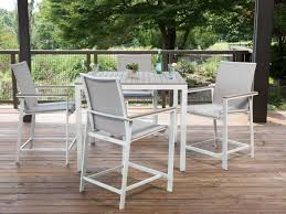 Patio Table Wood Aluminum Patio Furniture Patioliving