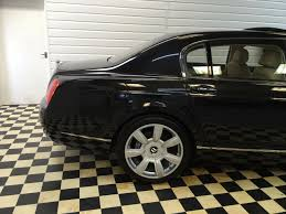 bentley continental flying spur black used bentley continental flying spur 6 0 w12 4dr auto for sale in