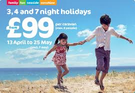 caravan holidays for the family on the south coast