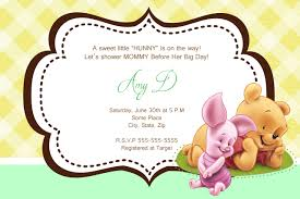 winnie the pooh baby shower ideas decorations invitations themes