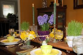 Easter Kitchen Table Decor by Easter Table Decor Kath U0027s Kitchen Sync