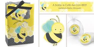bumble bee decorations honey bee baby shower decorations theme babyshowerstuff