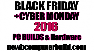 best pc parts deals black friday pc hardware deals newb computer build
