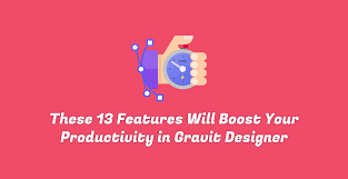 these 13 features will boost your productivity in gravit designer