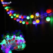 Schlafzimmer Deko Lichterkette Zinuo 10 Mt 60led Globe Kugel Lichterketten Neujahr Dekoration
