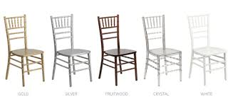 chaivari chairs chiavari chair rentals western pennsylvania west virginia