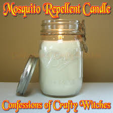 herbal health care mosquito repellent candle tutorial