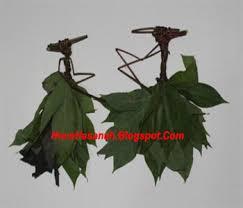 cara membuat kerajinan tangan dari janur cara membuat wayang daun singkong