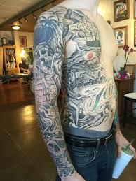black and grey tattoos britten in st augustine florida