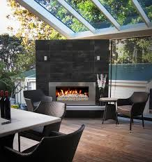 outdoor fireplace ideas deck
