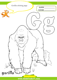 kids under 7 letter g worksheets and coloring pages