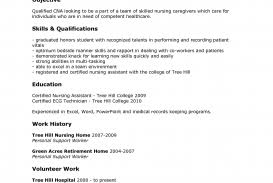nursing student resume with no experience cna resume no experience templates sles resumes cover letter