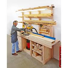 Woodworking Plans Desk Organizer by Multipurpose Workcenter Woodworking Plan From Wood Magazine