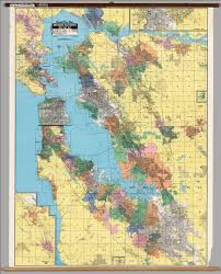 San Francisco Bay Map by California San Francisco Bay Cities Political David Rumsey