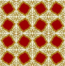kazakh pattern traditional national background of kazakhstan