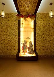 khrsija residence puja room designs by ipipl homz in