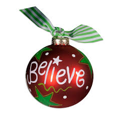believe christmas ball ornament christmas ornament palmetto