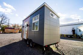 Modern Tiny Houses by Mid Century Modern Tiny Home 170 Sq Ft Tiny House Town