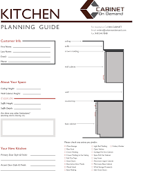 we offer a kitchen planning guide to help design your perfect kitchen