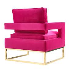 Pink Sleeper Sofa by Avery Pink Velvet Chair