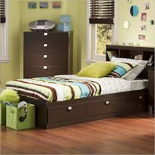 Twin Beds With Drawers Amazing Twin Bed Frame With Drawers And Headboard 38 On