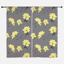 Yellow Gray Curtains Yellow Gray Window Curtains U0026 Drapes Yellow Gray Curtains For Any