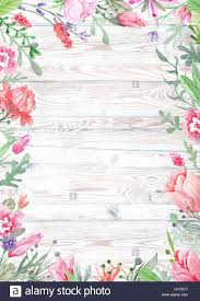 shabby chic vintage card template for wedding summer event stock