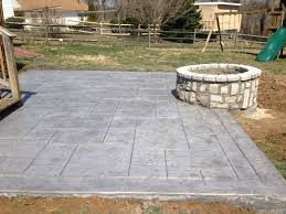Backyard Stamped Concrete Ideas Countdown To Summer Outdoor Living Ideas Difelice Stamped