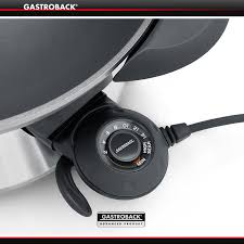 gastroback design advanced pro gastroback design wok advanced pro cookfunky