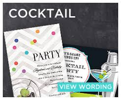 Cocktail Party Quotes - party invitation wording examples invitation box