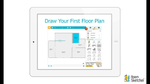 app to draw floor plans draw your first floor plan tablet youtube