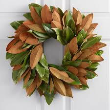 live magnolia wreath world market