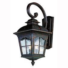Antique Outdoor Lights by Bel Air Lighting Bostonian 2 Light Antique Rust Outdoor Coach