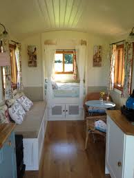 really like the location of the bed fernhills gypsy caravan and